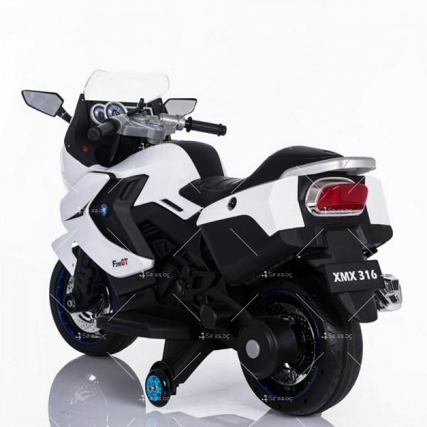 Акумулаторен мотор с меки гуми и кожена седалка XMX 316 12V 9