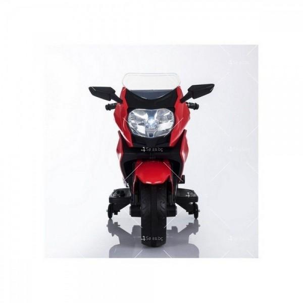 Акумулаторен мотор с меки гуми и кожена седалка XMX 316 12V 12