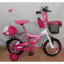 Детски велосипед Барби с помощни гуми 12''