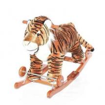 Плюшен тигър за яздене с музика и движения 2 в 1