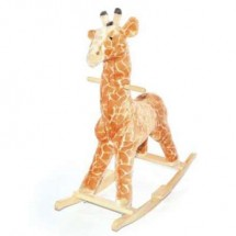 Детско плюшено жирафче за яздене 2 в 1