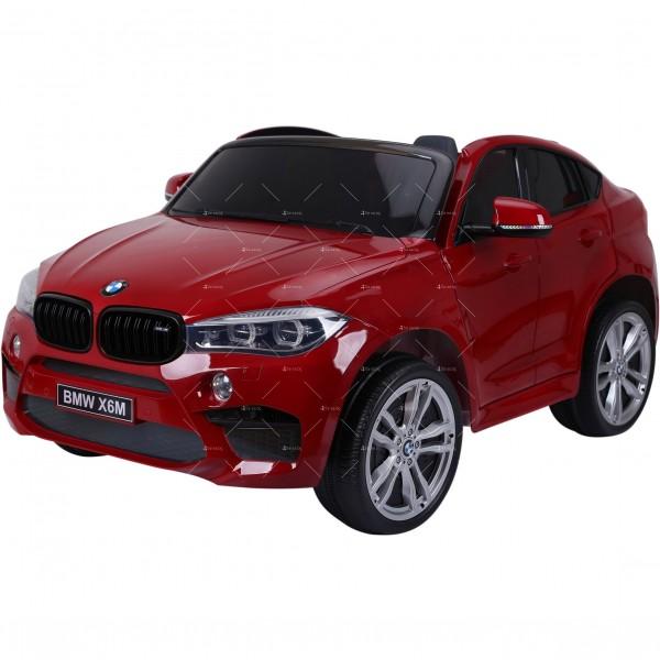 Лицензиран BMW X6M двуместен детски автомобил Ride On Car