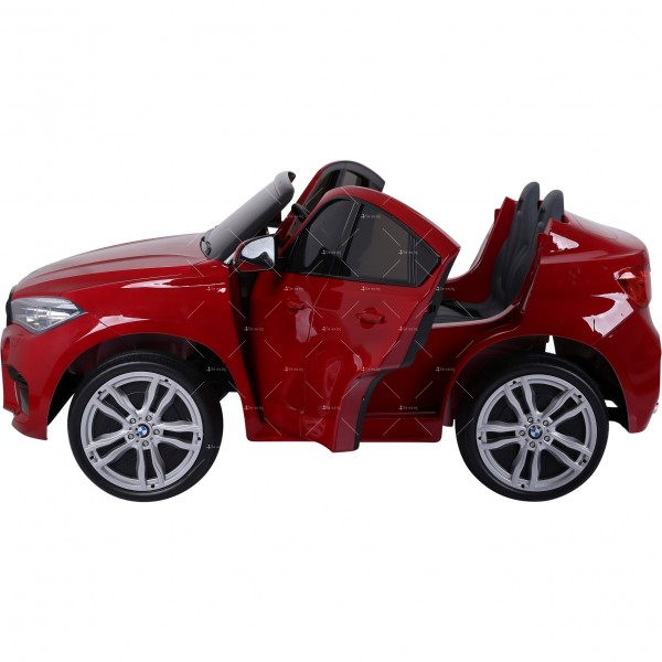 Лицензиран BMW X6M двуместен детски автомобил Ride On Car 3