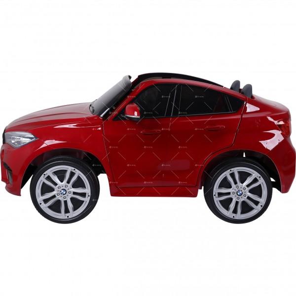 Лицензиран BMW X6M двуместен детски автомобил Ride On Car 4