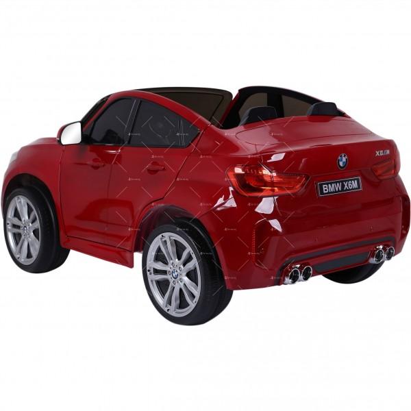 Лицензиран BMW X6M двуместен детски автомобил Ride On Car 5