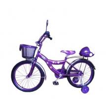 Детски велосипед Барби с помощни гуми 20'' цола