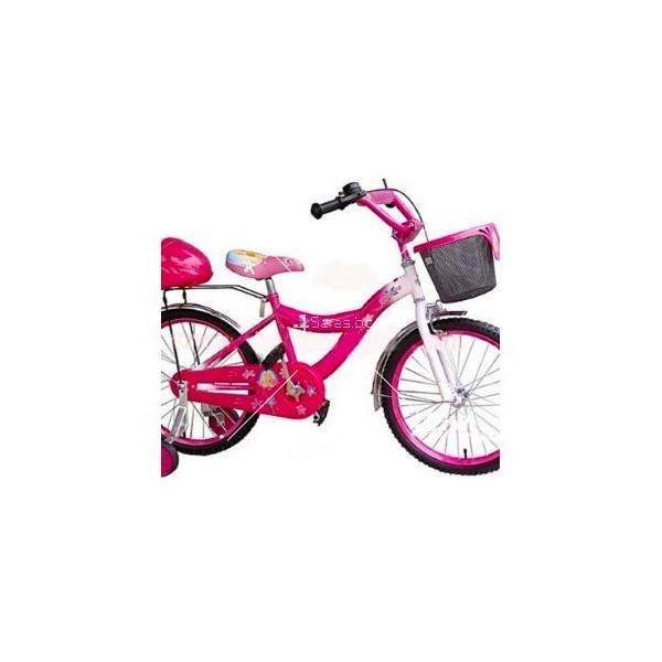 Детски велосипед Барби с помощни гуми 20'' цола 2