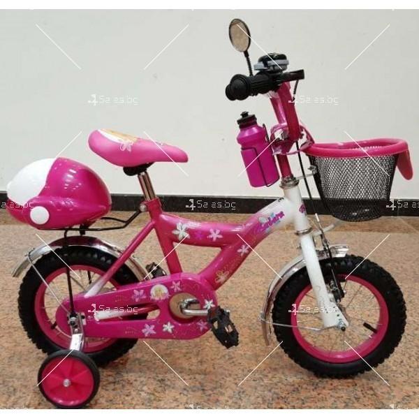 Детски велосипед Барби с помощни гуми 20'' цола 3