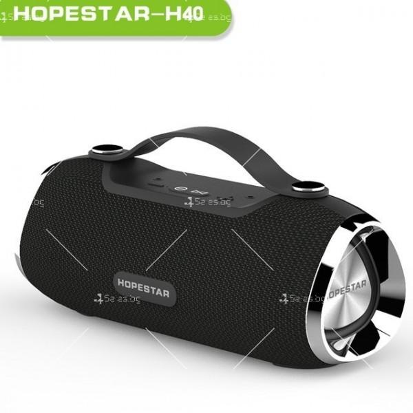 Преносима BLUETOOTH колонка HOPESTAR H40 4
