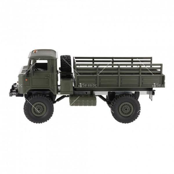 Акумулаторно ретро камионче с ремарке ARMY TRUCK WPL TOY CAR5 4