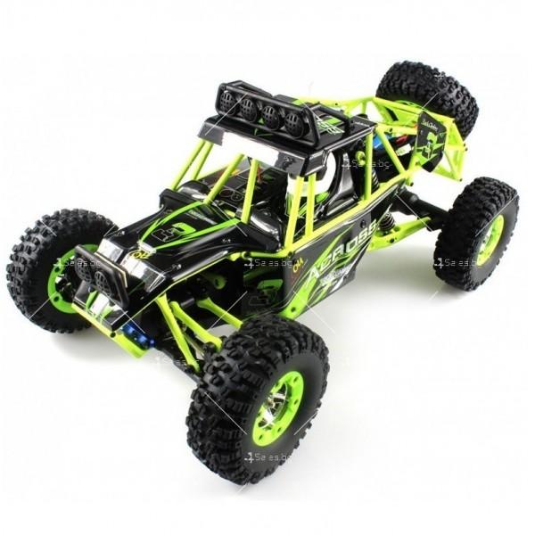 Детска акумулаторна кола ACROSS CRAWLER 4WD развиваща скорост до 50 км.ч 3