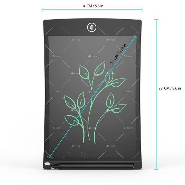 LCD Таблет за рисуване и писане angmno 8.5 TV153 7