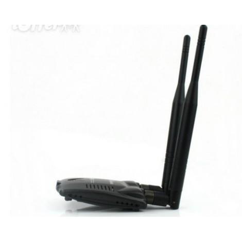 Мощен wifi приемник Kinamax 5800mW 802.11b/g/n 150Mbps обхват до 5600 метра