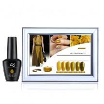 UV гел лак за нокти AS Anothersexy, в 6 нюанса Golden apricot ZJY13