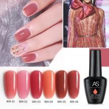UV гел лак за нокти AS Anothersexy, в 6 цвята Smokey red ZJY15