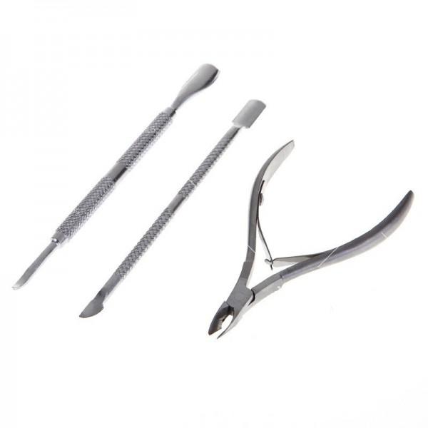 Инструменти за обработка кожички около ноктите ZJY39 2