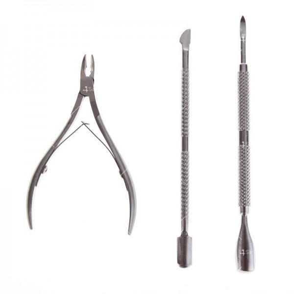 Инструменти за обработка кожички около ноктите ZJY39 3