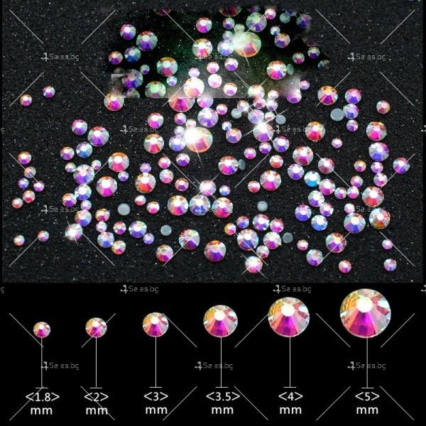 Блестящи кристали за декорация на нокти ZJY51 4