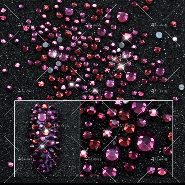Блестящи кристали за декорация на нокти ZJY51 8