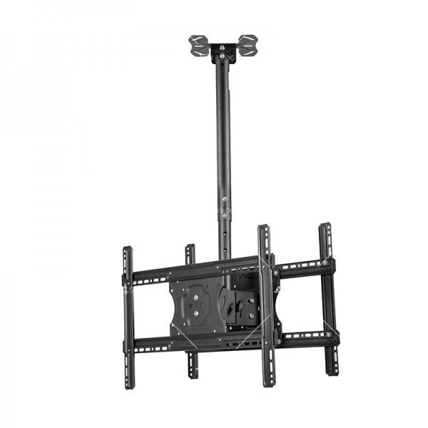 Двойна ТВ стойка за таван за екрани от 32 до 65 инча TV STOIK-5 5