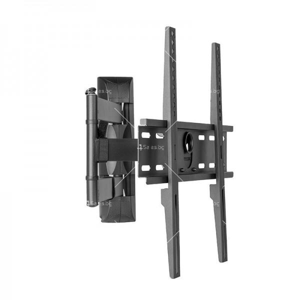 Универсална релсова ТВ стойка за стена за екрани с 32-60 инча TV STOIK-12 2