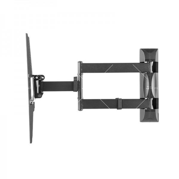 Универсална релсова ТВ стойка за стена за екрани с 32-60 инча TV STOIK-12 3
