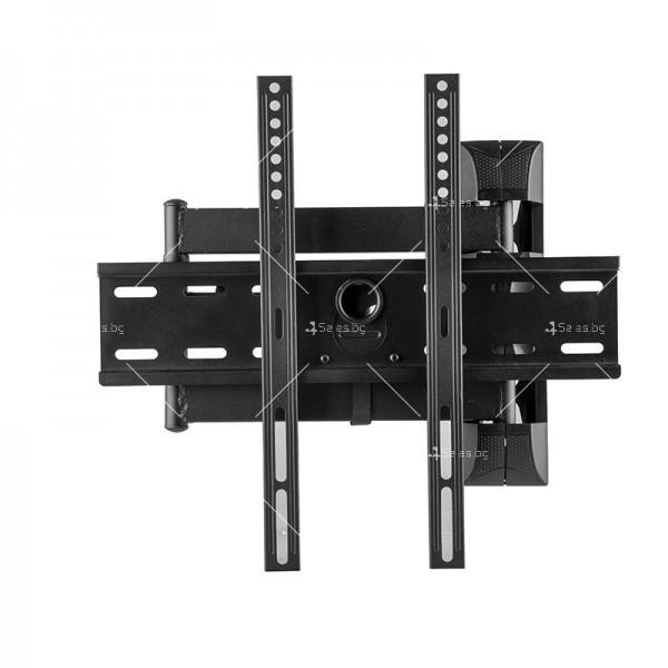 Универсална релсова ТВ стойка за стена за екрани с 32-60 инча TV STOIK-12 5