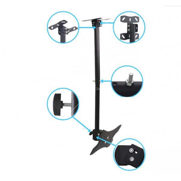 Висяща ТВ стойка за таван за екрани от 14 до 42 инча TV STOIK-10 7