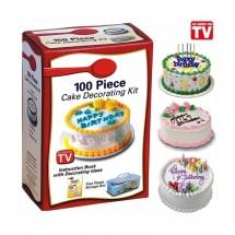 Комплект за декориране на торти- 100 броя