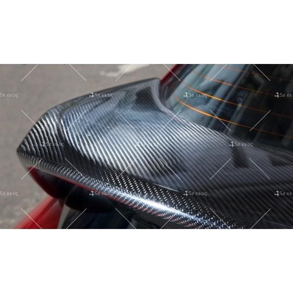Фолио за автомобил - Черен Карбон 152 см 3