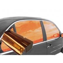 Фолио - Оранжев Гланц 152 см, за стъкла и фарове