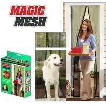 Магнитна мрежа за врата против насекоми Magic mesh TV426
