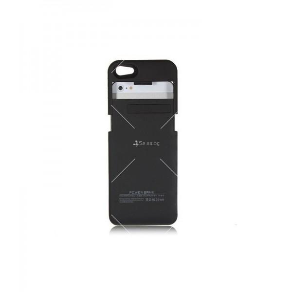 Калъф 2 в 1 с вградена батерия за Iphone 5/5S/5C TV328 3