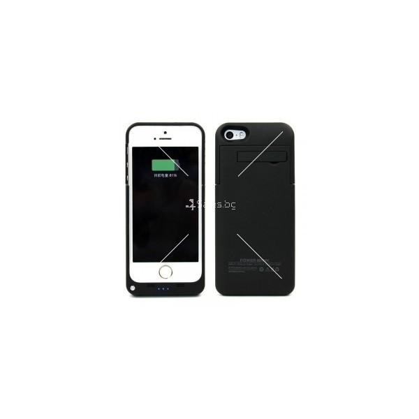 Калъф 2 в 1 с вградена батерия за Iphone 5/5S/5C TV328 4