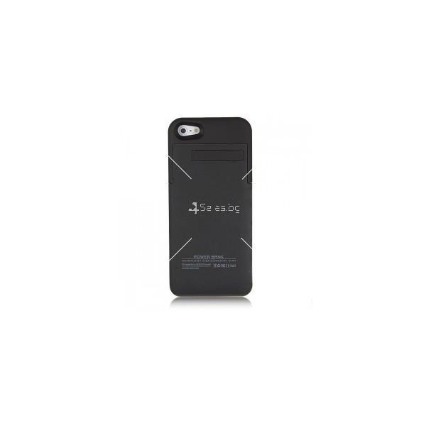 Калъф 2 в 1 с вградена батерия за Iphone 5/5S/5C TV328 5