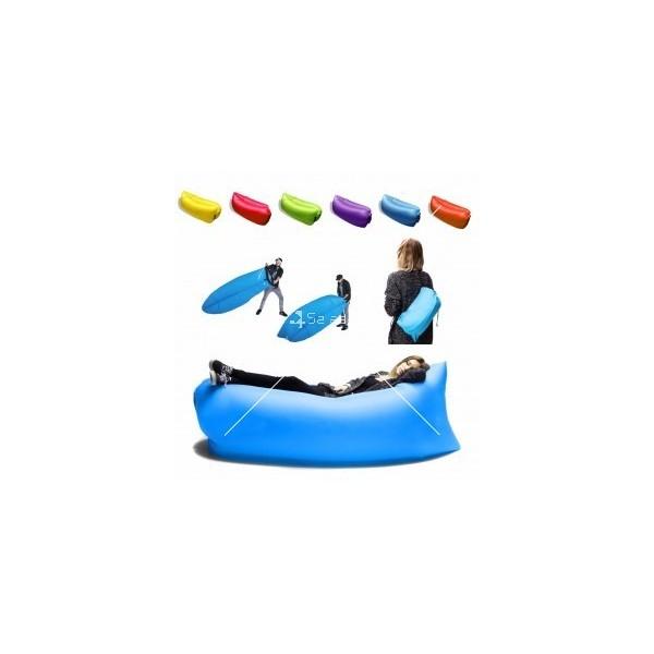 Самонадуващо се легло подходящо за планина и море Lazy Bag TV326 11