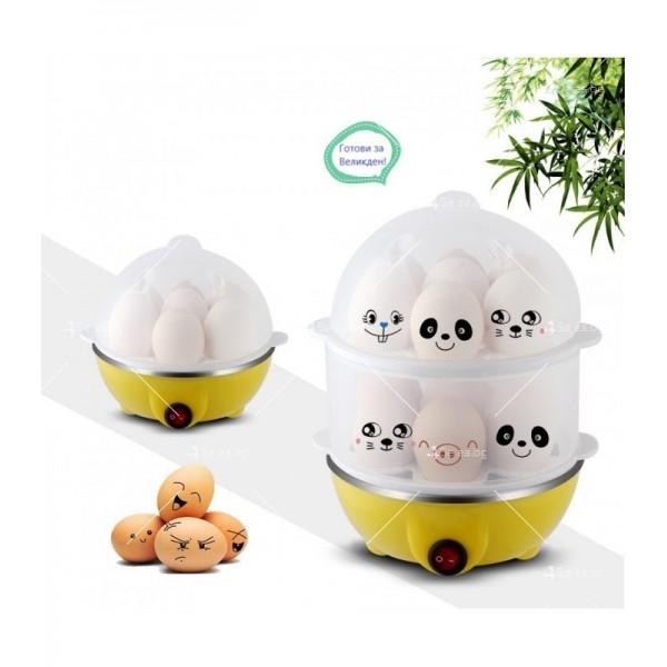 Яйцеварка с пара за 7 или 14 яйца с таймер TV243 3