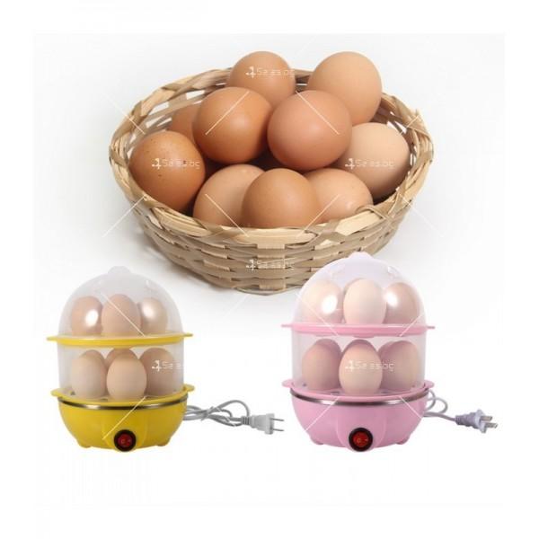 Яйцеварка с пара за 7 или 14 яйца с таймер TV243 5