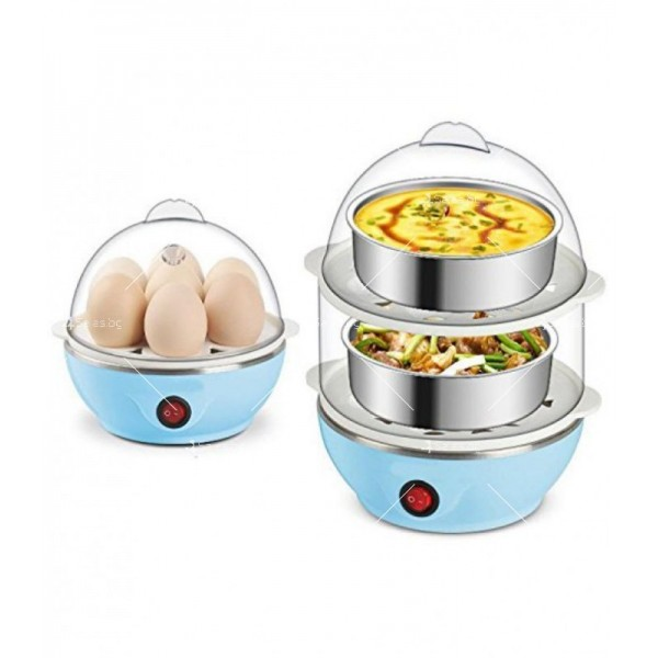 Яйцеварка с пара за 7 или 14 яйца с таймер TV243 6