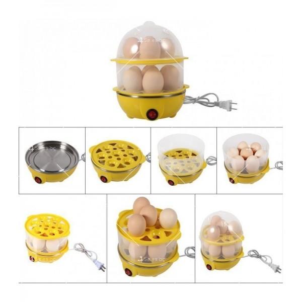 Яйцеварка с пара за 7 или 14 яйца с таймер TV243 7