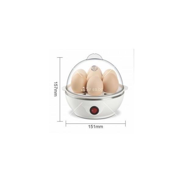 Яйцеварка с пара за 7 или 14 яйца с таймер TV243 11