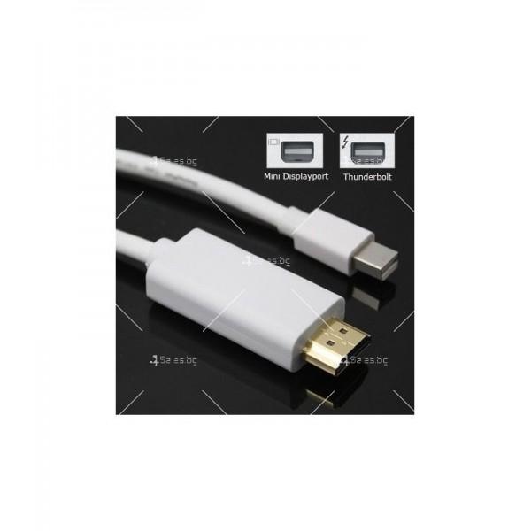 Преходник адаптер mini DP (дисплей порт) към HDMI мъжко 2
