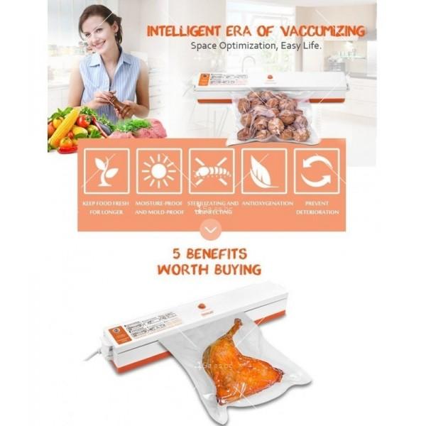 Машинка за вакуумиране на хранителни продукти TV159 10