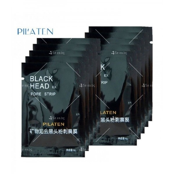 Черна пилинг маска за лице за почистване на черни точки TV169 5