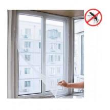 Предпазна мрежа за прозорци в бял цвят TV440