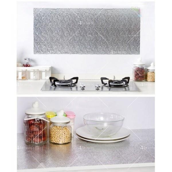 Самозалепващо алуминиево или цветно PVC фолио за плот TV239 2
