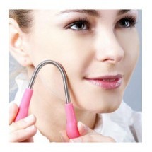 Ръчен уред за обезкосмяване на лице – пружинен епилатор TV236