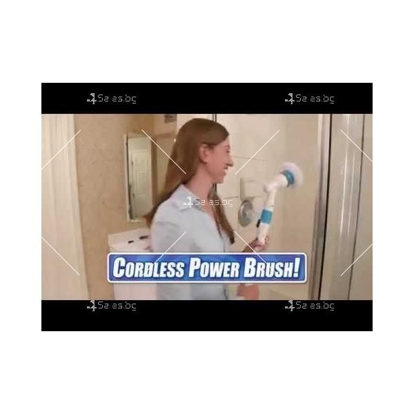 Електрическа четка за почистване на баня Spin scrubber TV250 2