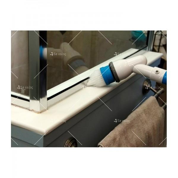 Електрическа четка за почистване на баня Spin scrubber TV250 8