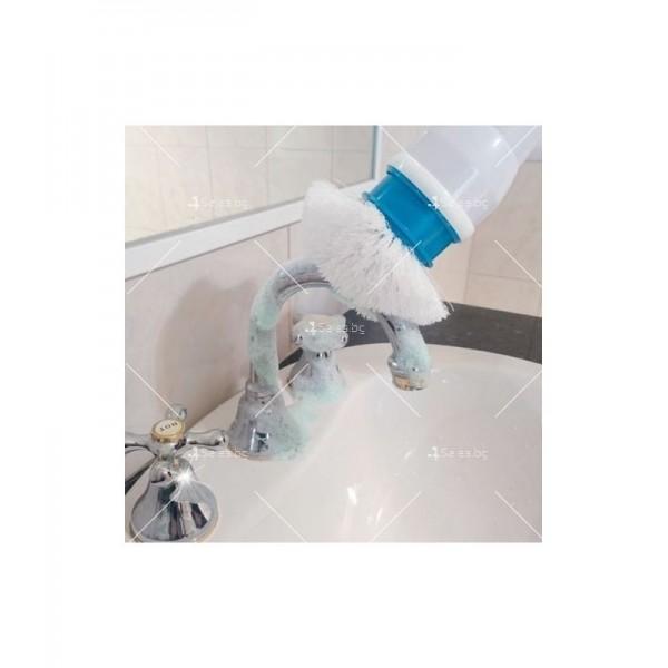 Електрическа четка за почистване на баня Spin scrubber TV250 10
